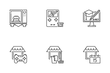 Stay At Home Icon Pack