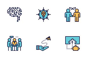 STEM Education Icon Pack