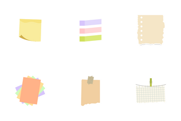 Sticker Notes Icon Pack
