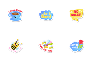 Stickers Icon Pack