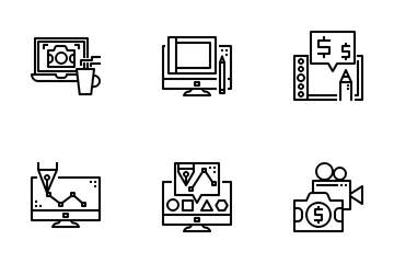 Stock Contributor Icon Pack