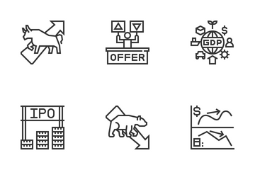 Stock Investment Icon Pack