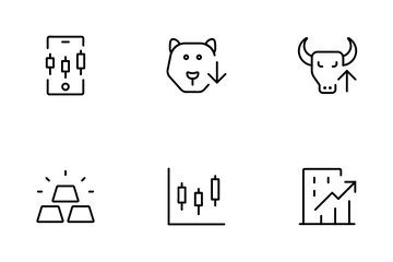 Stock Market Icon Pack