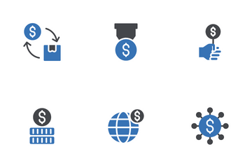 Stock Market Trading Icon Pack
