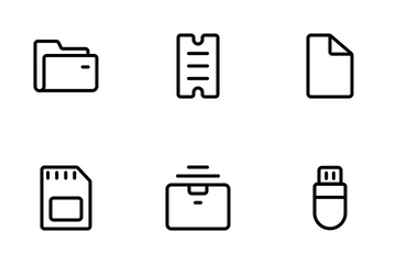 Storage Icon Pack