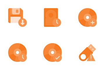 Storage & Data Icon Pack