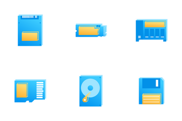 Storage Devices Icon Pack