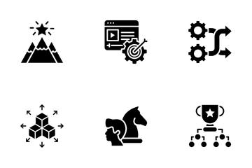 Strategic Management Icon Pack
