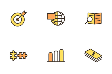 Strategy And Management Icon Pack