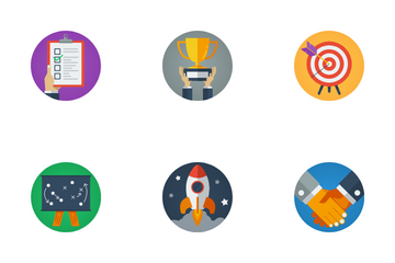 Strategy Management Icon Pack