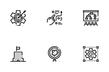 Strategy Manager Job Icon Pack