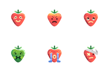 Strawberry Icon Pack