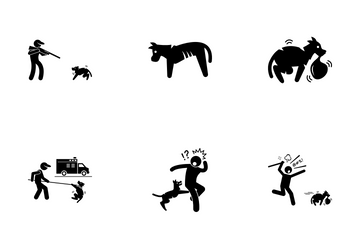 Stray Dog Icon Pack