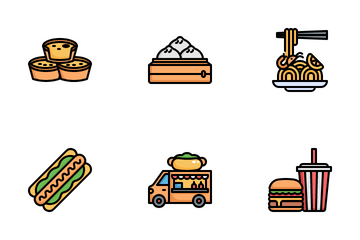 Street Food Icon Pack