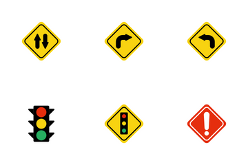 Street Sign Icon Pack