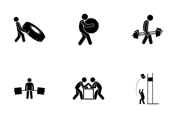 Strongman Icon Pack