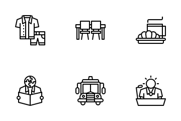 Student Life Icon Pack