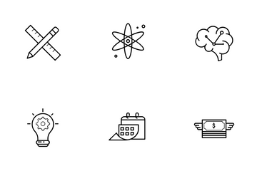Students Icon Pack