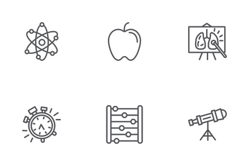 Study And Education Icon Pack