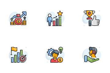 Success And Opportunities Icon Pack