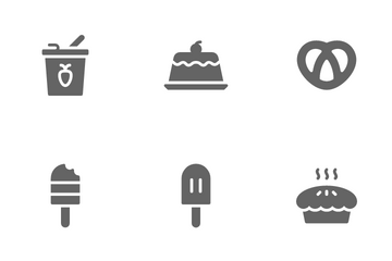 Sugary Food Icon Pack
