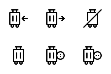 Suitcase Icon Pack