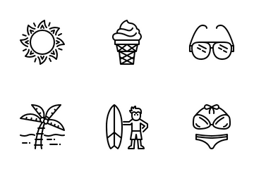 Summer Icon Pack