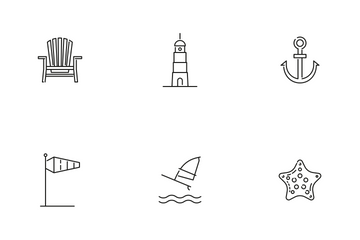 Summer And Seaside Icon Pack