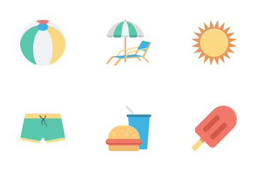 Summer And Holidays Icon Pack