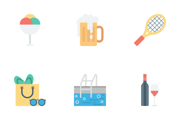 Summer And Holidays Vol 1 Icon Pack