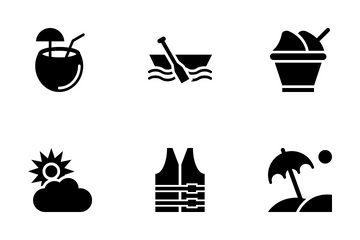 Summer And Travel Vol 1 Icon Pack