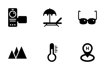 Summer And Travel Vol 2 Icon Pack