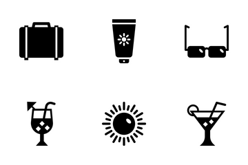 Summer And Travel Vol 4 Icon Pack
