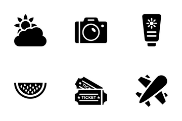Summer And Travel Vol 5 Icon Pack