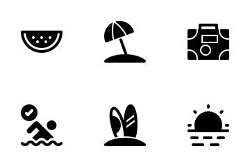 Summer Beach Icon Pack