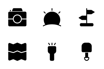 Summer Camp Icon Pack