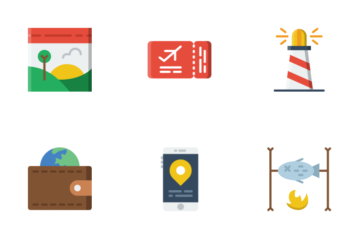 Summer - Flat Icon Pack