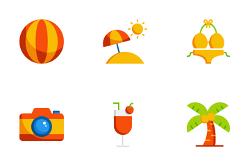 Summer Holiday Icon Pack