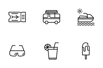 Summer Holidays Icon Pack