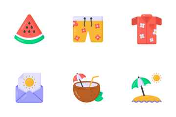 Summer Party Icon Pack