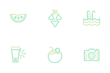 Summer Season Icon Pack