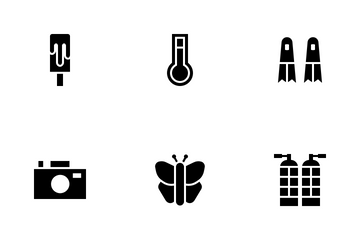 Summer Swimming Icon Pack