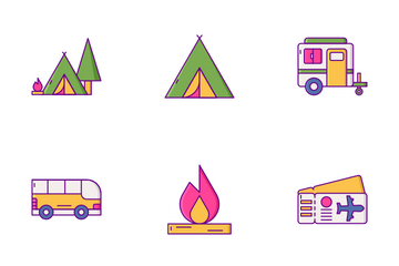 Summer Travel Icon Pack