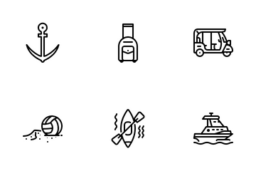 Summer Vacation Icon Pack