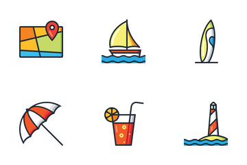 Summertime Icon Pack