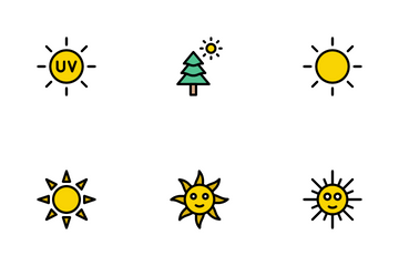 Sun Icon Pack