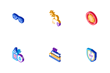 Sunscreen Icon Pack