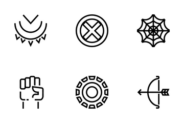 Superhero Icon Pack