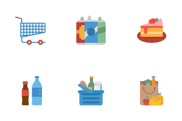 Supermarket Icon Pack