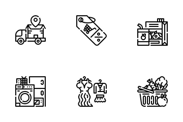 Supermarket Icon Pack